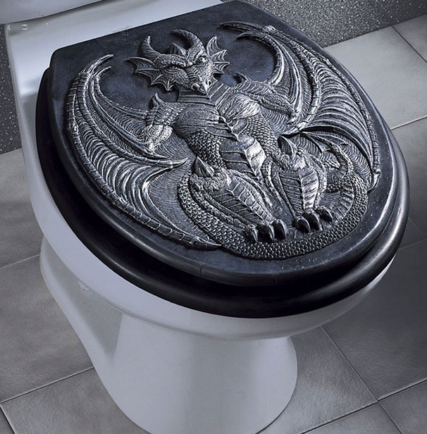 Top 10 amazing and unusual toilet seats for Unique toilet seats