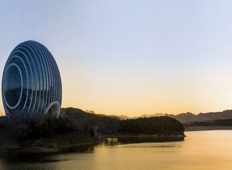 Top 10 Weird and Wonderful Egg Shaped Buildings
