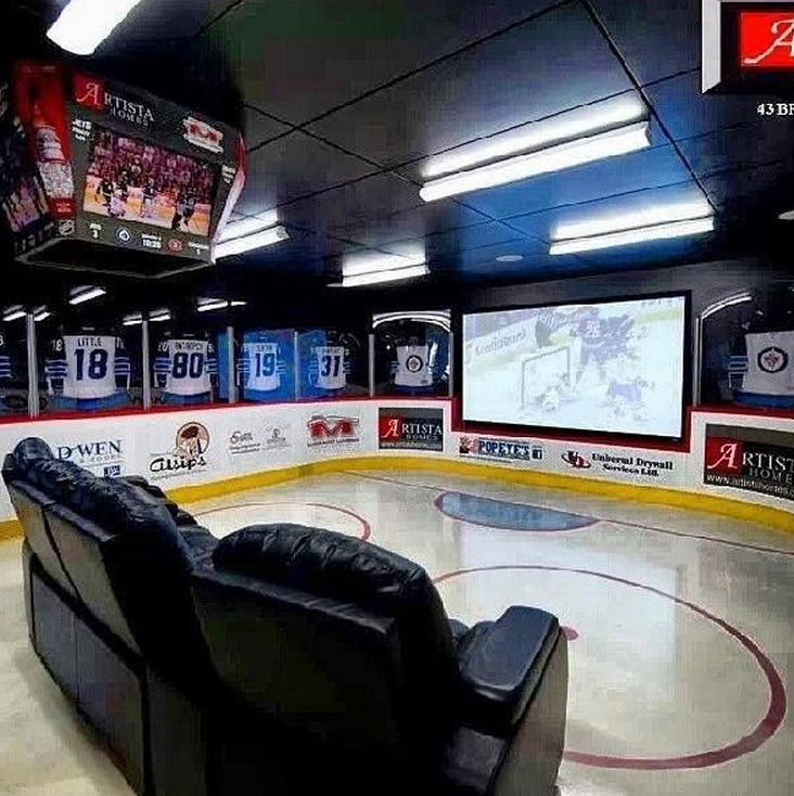 Man Cave Themes : Top ultimate man caves and rooms