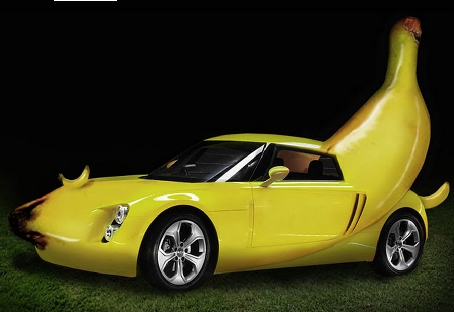 Design Your Own Car >> Top 10 Crazy Banana Cars With Real Appeal