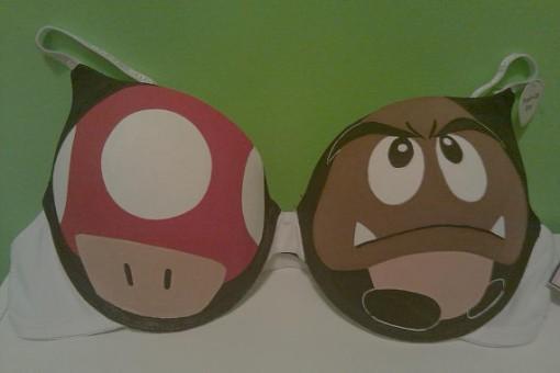 Goomba & Toad Bra