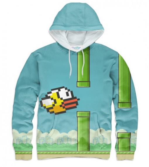Flappy Bird Hoodie