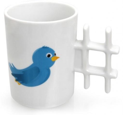 Twitter Hashtag Mug