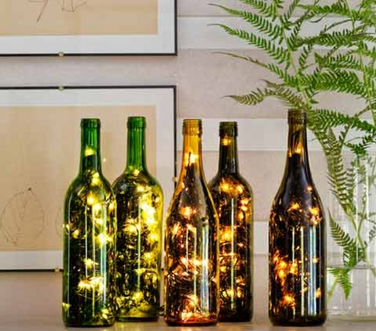 Top 10 ways to recycle and reuse empty wine bottles - How to reuse old clothes well tailored ideas ...