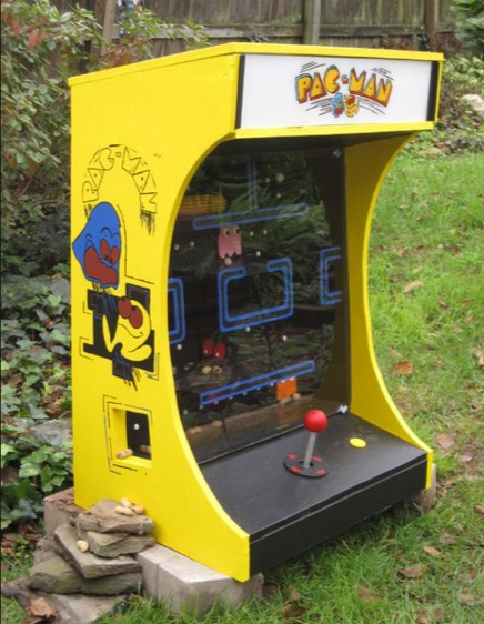PacMan Squirrel Feeder