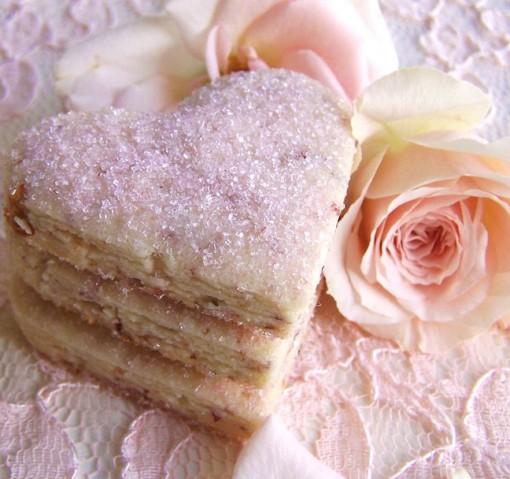 Rose Petal Cookies