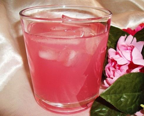 Rose Petal Iced Tea