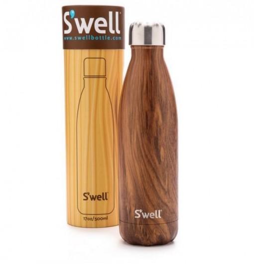 Teakwood Water Bottle
