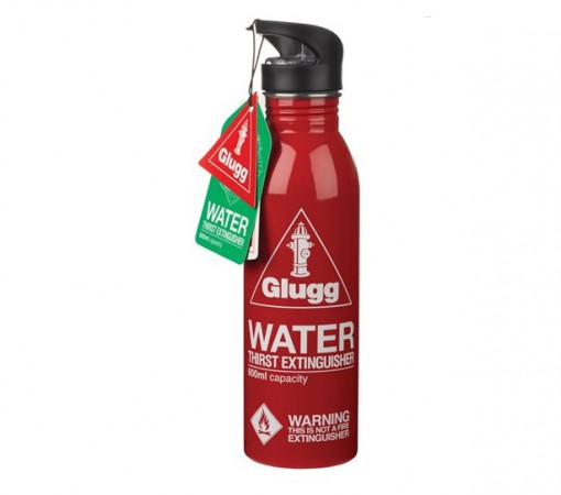Fire Extinguisher Water Bottle