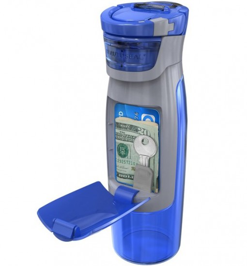 Water Bottle with Pocket