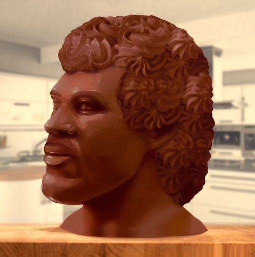 Lionel Richie Chocolate Head