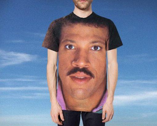 Lionel Richie Head Tee Shirt