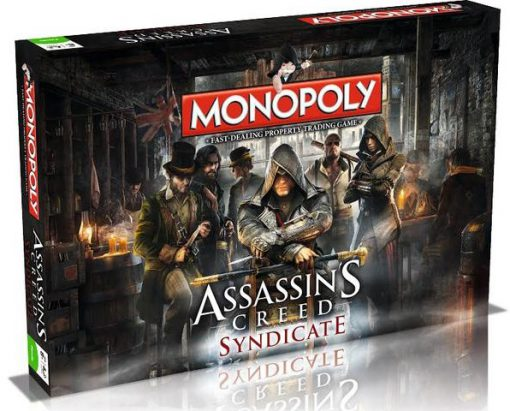 Assassin's Creed Monopoly Board Game Set