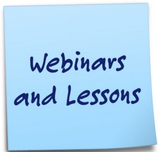 Webinars and Lessons