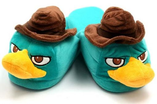 Novelty Perry The Platypus Slippers