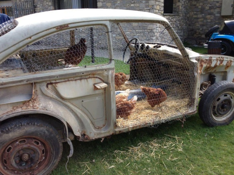 Top 10 Repurposed Things Turned Into Chicken Coops