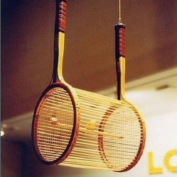 Top 10 things you can make with old sports rackets Housse de couette tennis