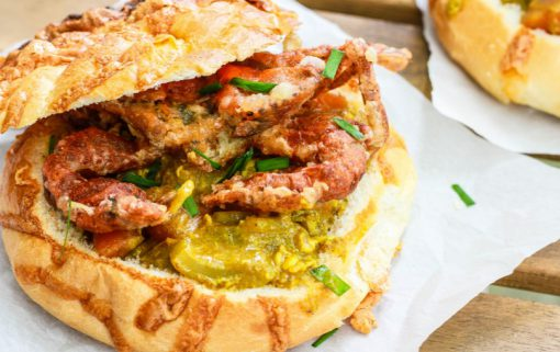 Curry & Soft Shell Crab Bread Bowl