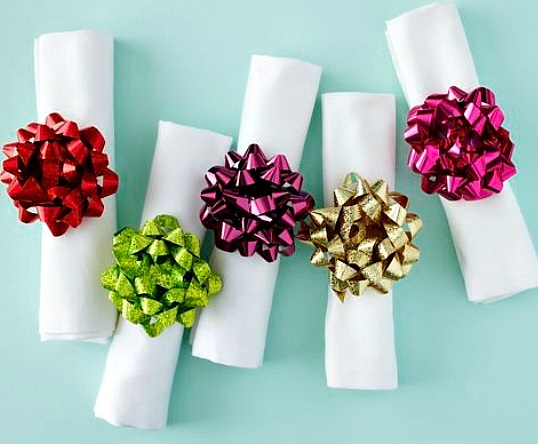 Top 10 Things You can Recycle into Napkin Rings