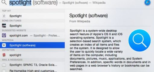 Learn to Use Spotlight Search