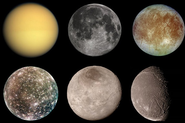 the major moons in solar system - photo #10