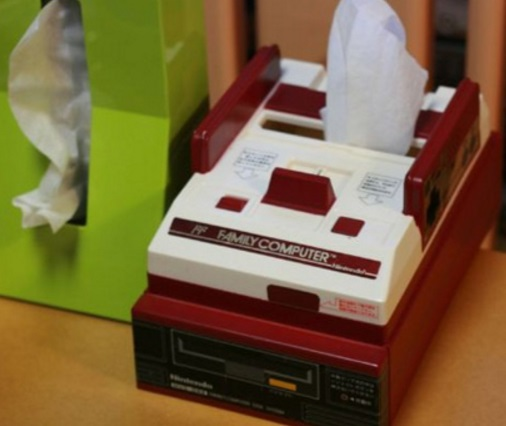 Nintendo Famicom Tissue Holder