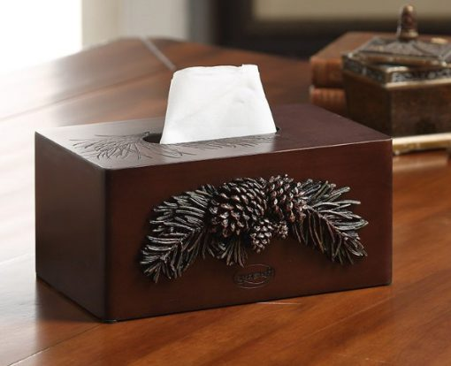 Stylish Wooden Tissue Holder