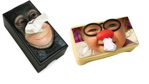 Funny Photos Tissue Holder