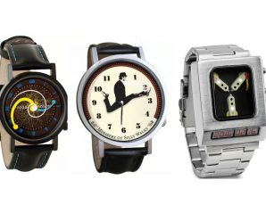 Top 10 Nerdy, Geeky and Unusual Wristwatches