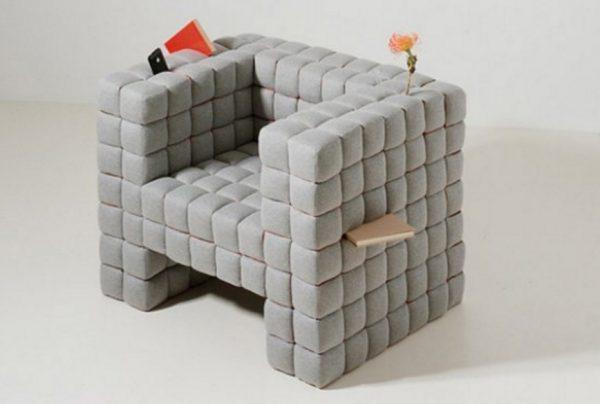 Creative Joined Cubes Armchair