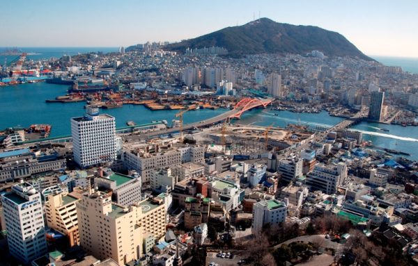 South Korea Population Density