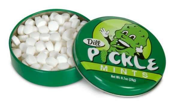 Dill Pickle Flavoured Mints