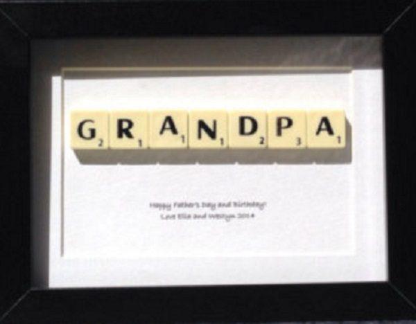 Personalised Grandpa Gift