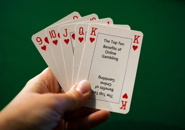 The Top Ten Benefits of Online Gambling